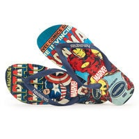 Iron Man and Captain America Flip Flops for Men by Havaianas