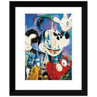 Image of ''Mickey and Castle'' Giclée by Randy Noble # 2