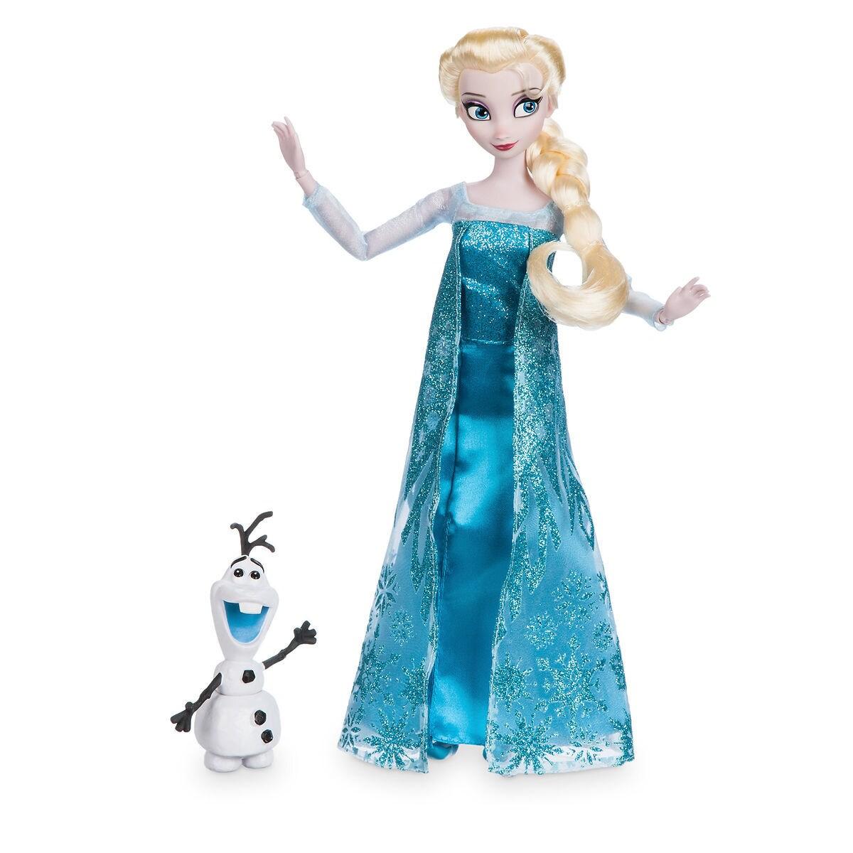 Elsa Classic Doll with Olaf Figure - 11 1/2\'\'   shopDisney