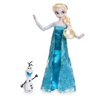 Image of Elsa Classic Doll with Olaf Figure - 11 1/2'' # 1