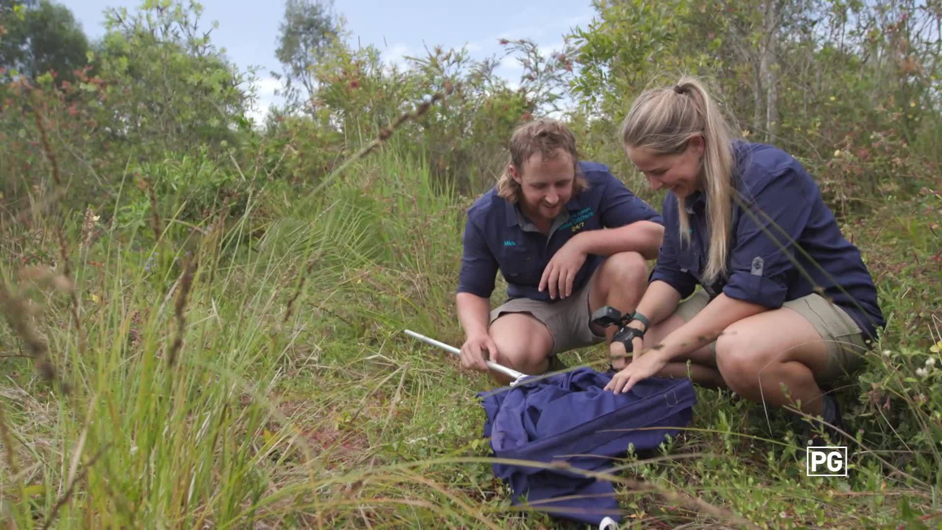 Meet Adele | Aussie Snake Wranglers | National Geographic Australia & New Zealand