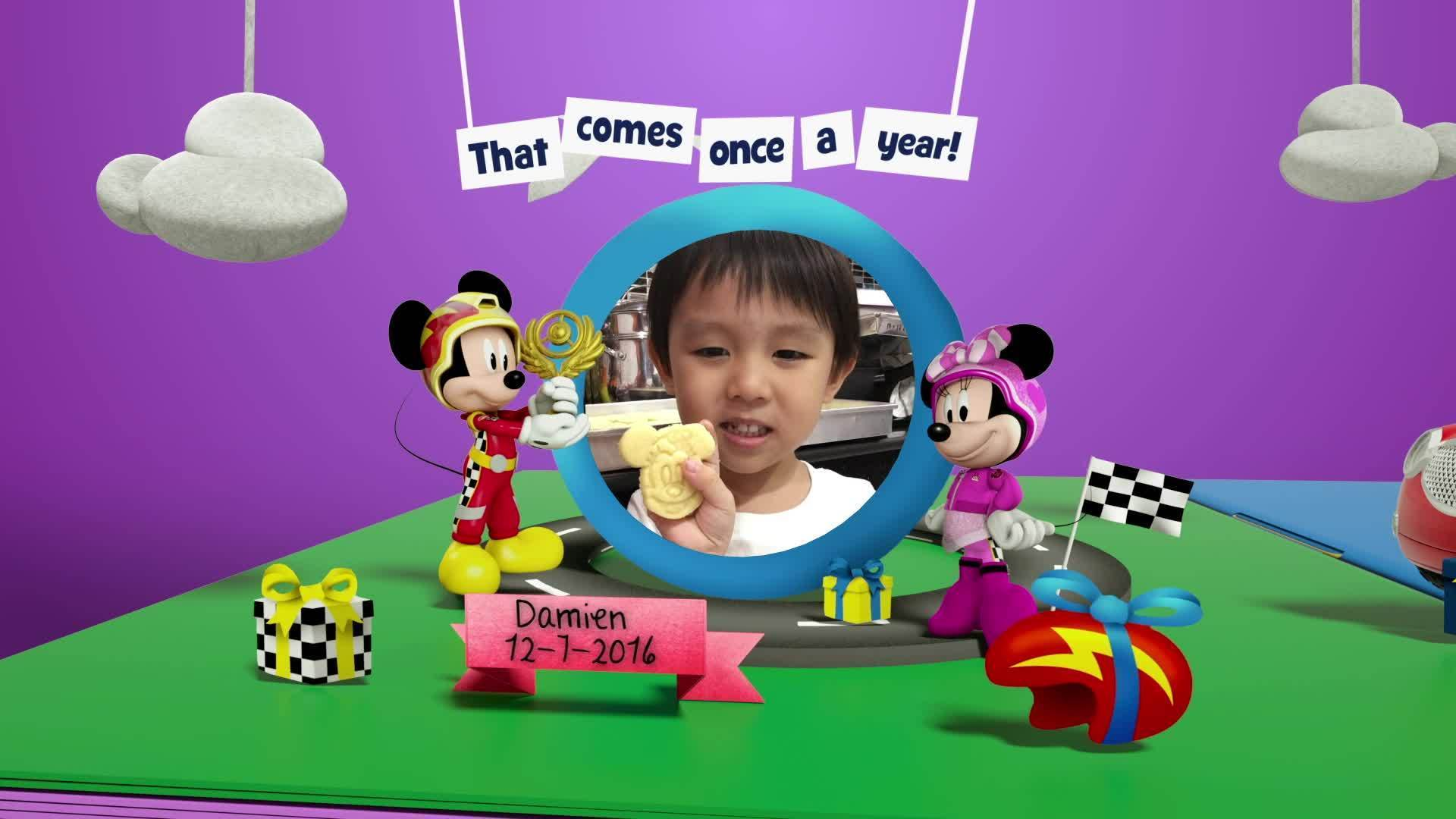 Disney Junior Birthday Book 2020 July Album 2