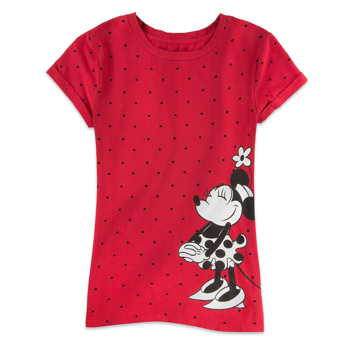 Minnie Mouse Polka Dot Tee For Women Shopdisney