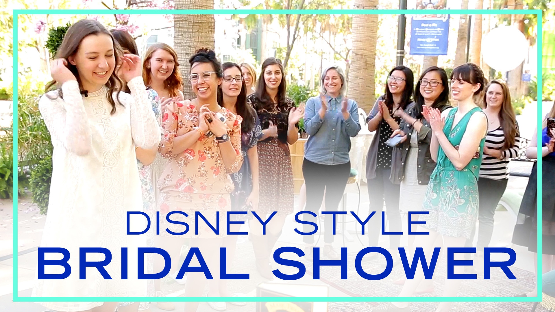 Disney Style Bridal Shower | Be Our Guest