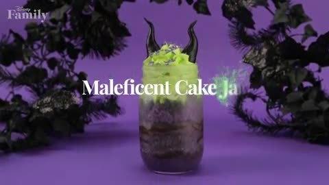 Maleficent Cake Jars Recipe   Disney Family