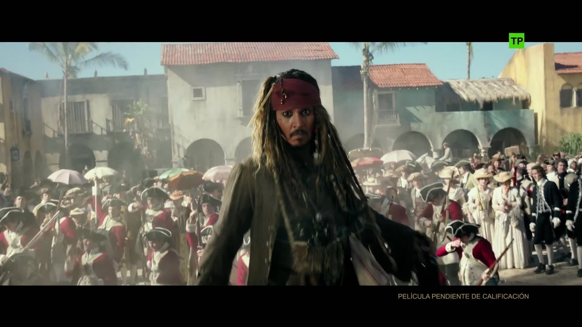 Piratas del Caribe: La venganza de Salazar - Making of