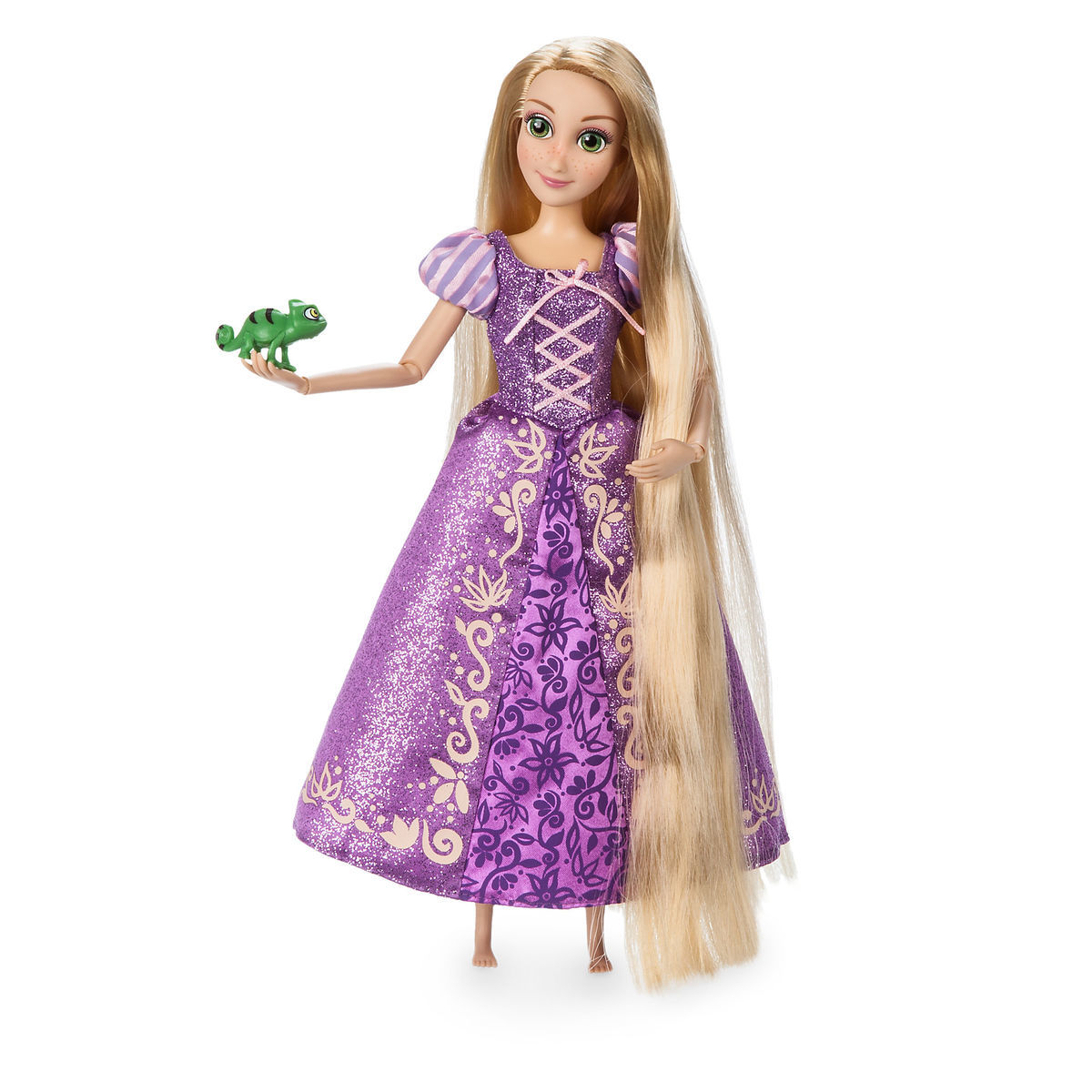 rapunzel classic doll with pascal figure 11 1 2 shopdisney