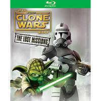 Image of Star Wars Clone Wars: The Lost Missions Blu-ray 2-Disc Set # 1