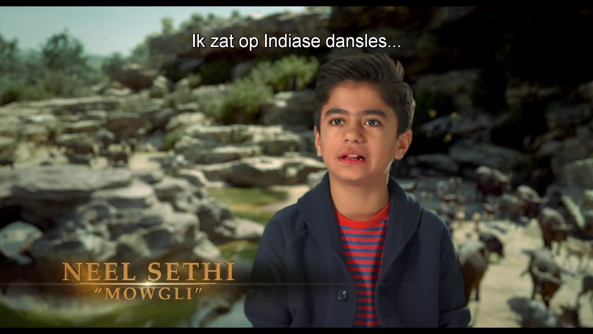 The Jungle Book - Auditie van Neel Sethi