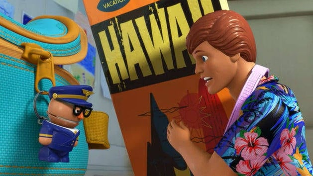 Hawaiian Vacation - Toy Story Toons