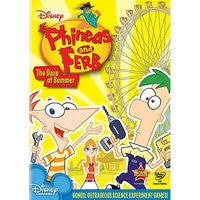 Phineas and Ferb: The Daze of Summer DVD