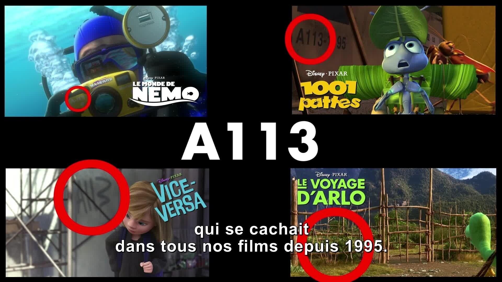 Le Monde de Dory - Bonus : Clins d'œil Pixar