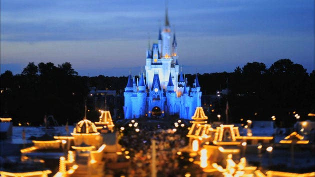 A Day at the Magic Kingdom  - Tilt-Shift Video