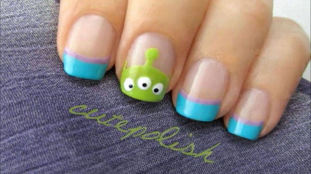 Toy story alien nails cutepolish disney video video thumbnail for toy story alien nails prinsesfo Gallery