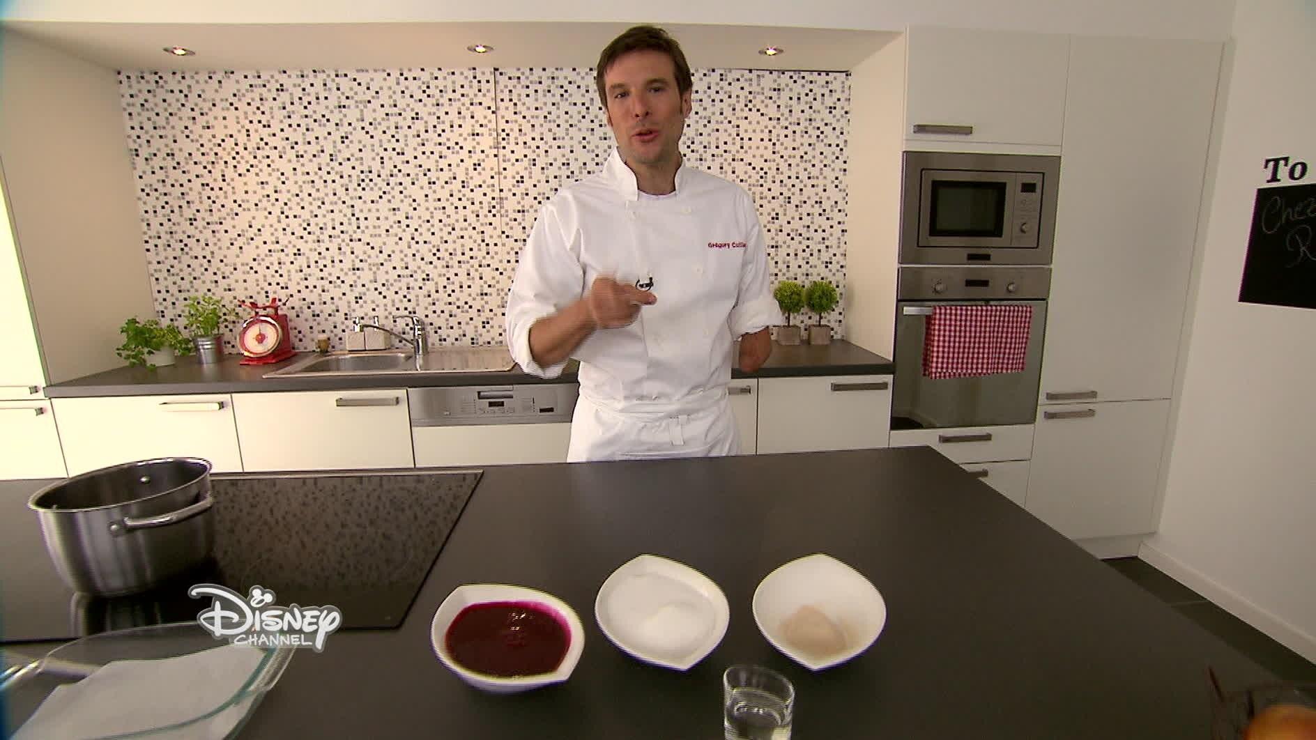 Chez Rémy tout le monde peut cuisiner - Recette des pâtes de fruit à la cerise