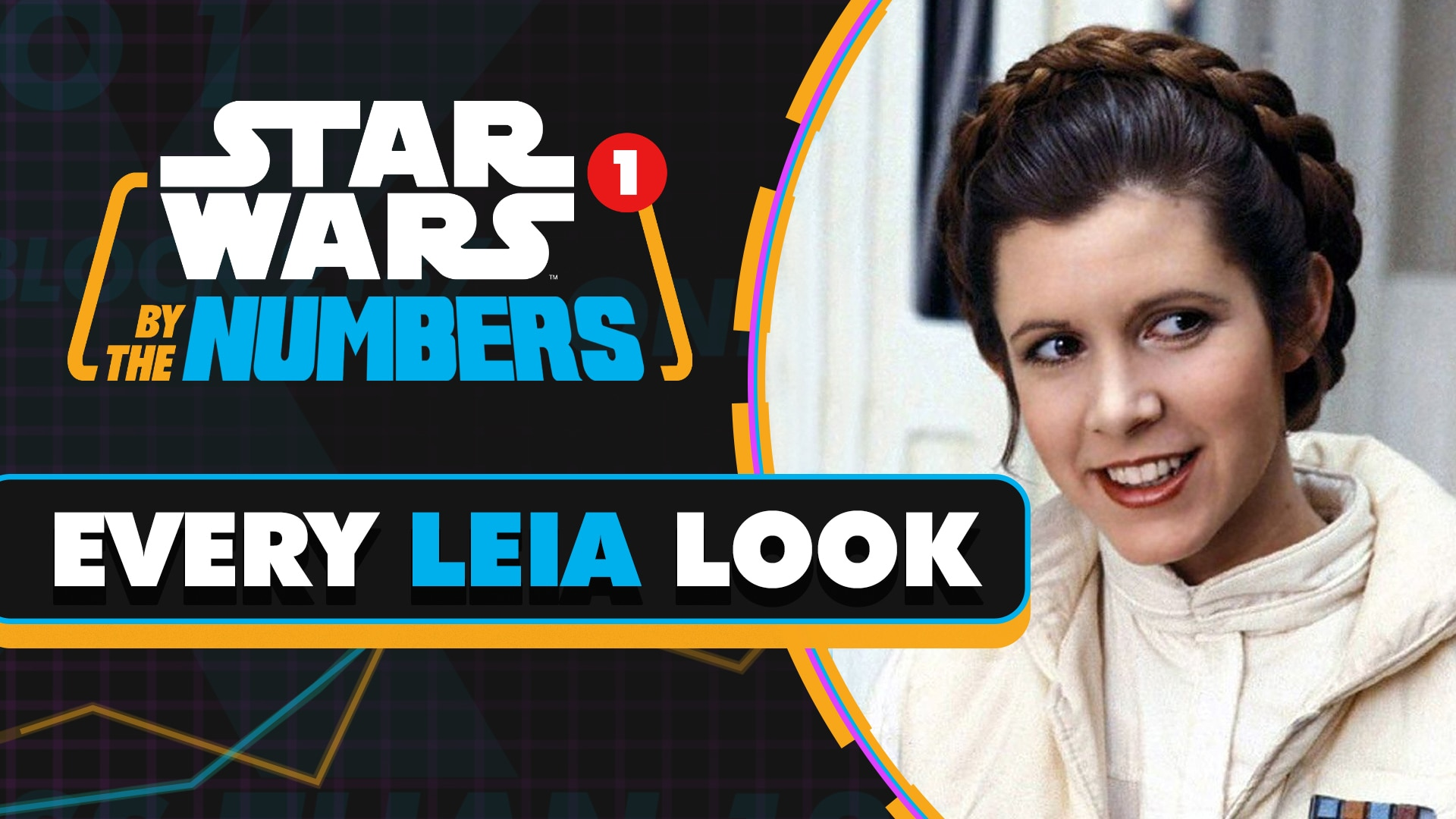 Every Leia Look in Star Wars | Star Wars By the Numbers