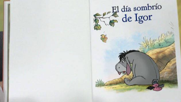 """""""El día sombrío de Igor"""" - Winnie Pooh"""