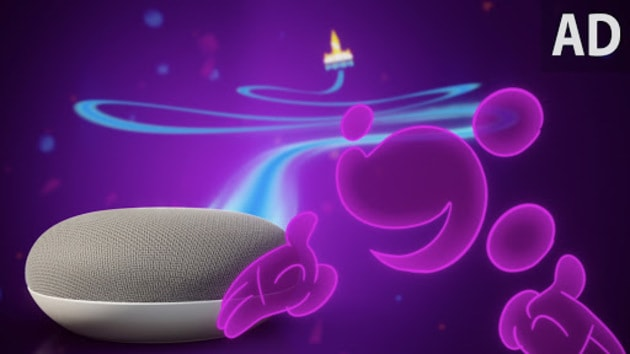 Ad Go On An Adventure With Mickey Mouse Amp Google Home