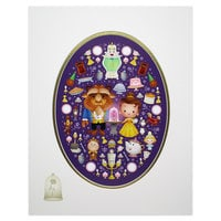 Beauty and the Beast ''A Truly Enchanted Rose'' Deluxe Print by Jerrod Maruyama
