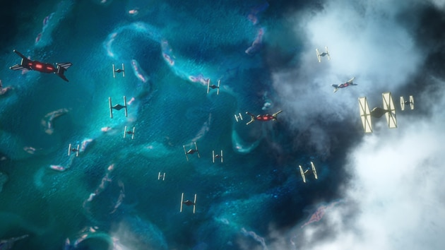 Exclusive Look at Poe's X-wing from Star Wars: Rise of the
