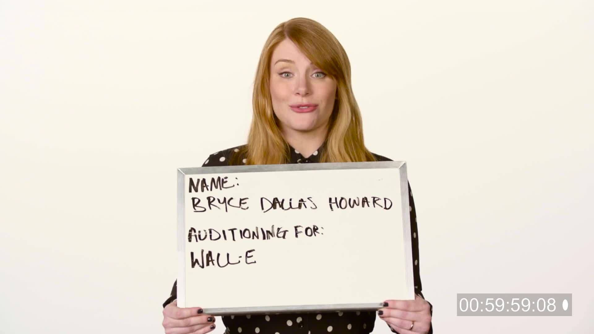 Disney Failed Auditions with Bryce Dallas Howard | Oh My Disney