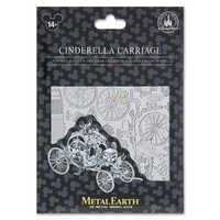 Image of Cinderella Carriage Metal Earth 3D Model Kit # 2