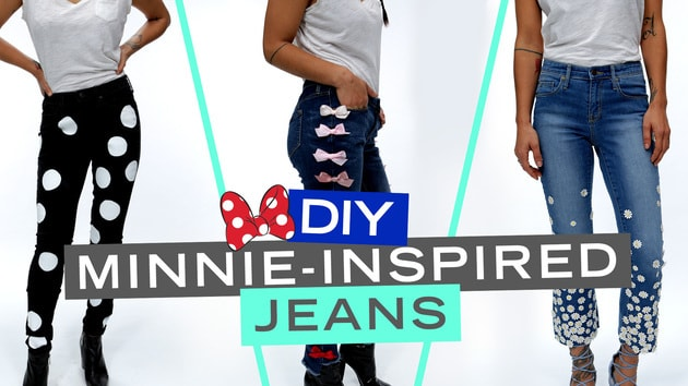 Minnie Mouse Inspired Jeans, 3 Ways | Disney Style