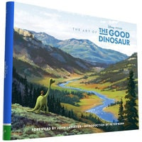Image of The Art of The Good Dinosaur Book # 1