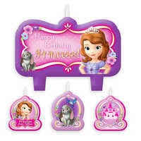Image of Sofia the First Birthday Candle Set # 1