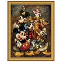 Image of ''Mickey Mouse and Friends'' Giclée by Darren Wilson # 8