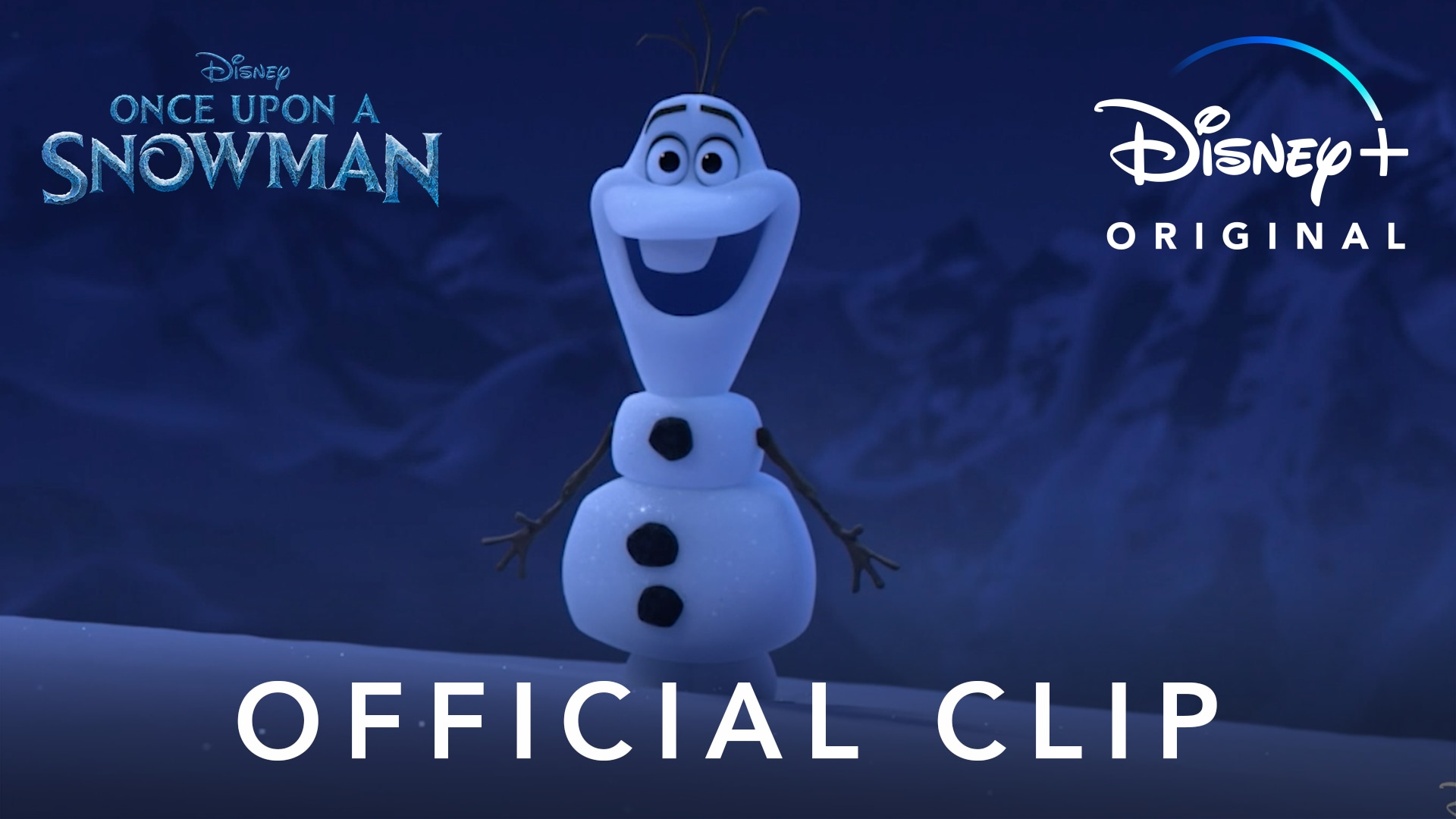 Official Clip | Once Upon a Snowman | Disney+