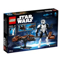 Scout Trooper and Speeder Bike Playset by LEGO - Star Wars