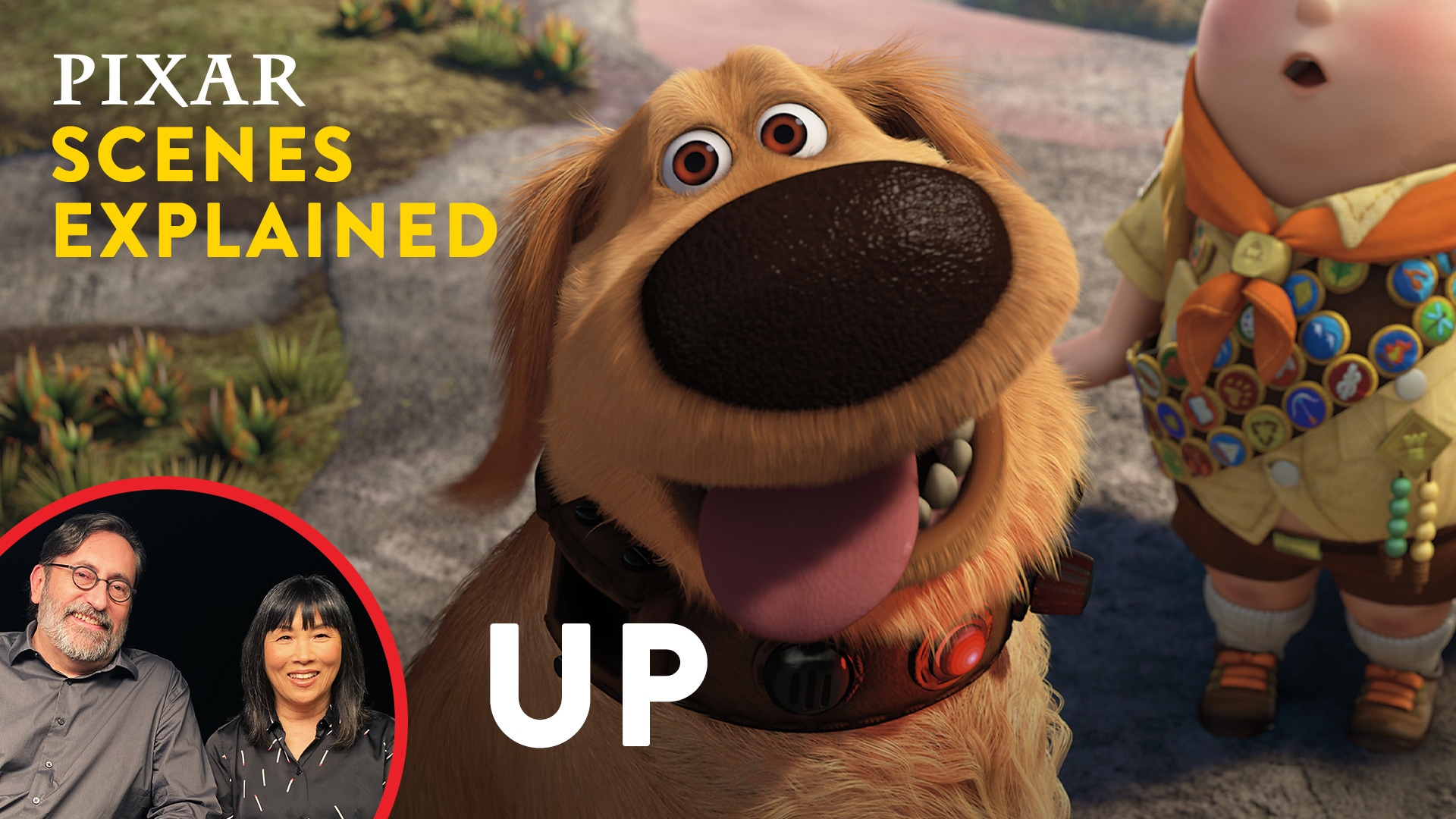 Up: Meet Dug | Pixar Scenes Explained