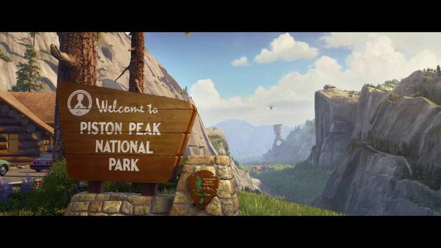 Planes: Fire and Rescue (Still I Fly Piston Peak)