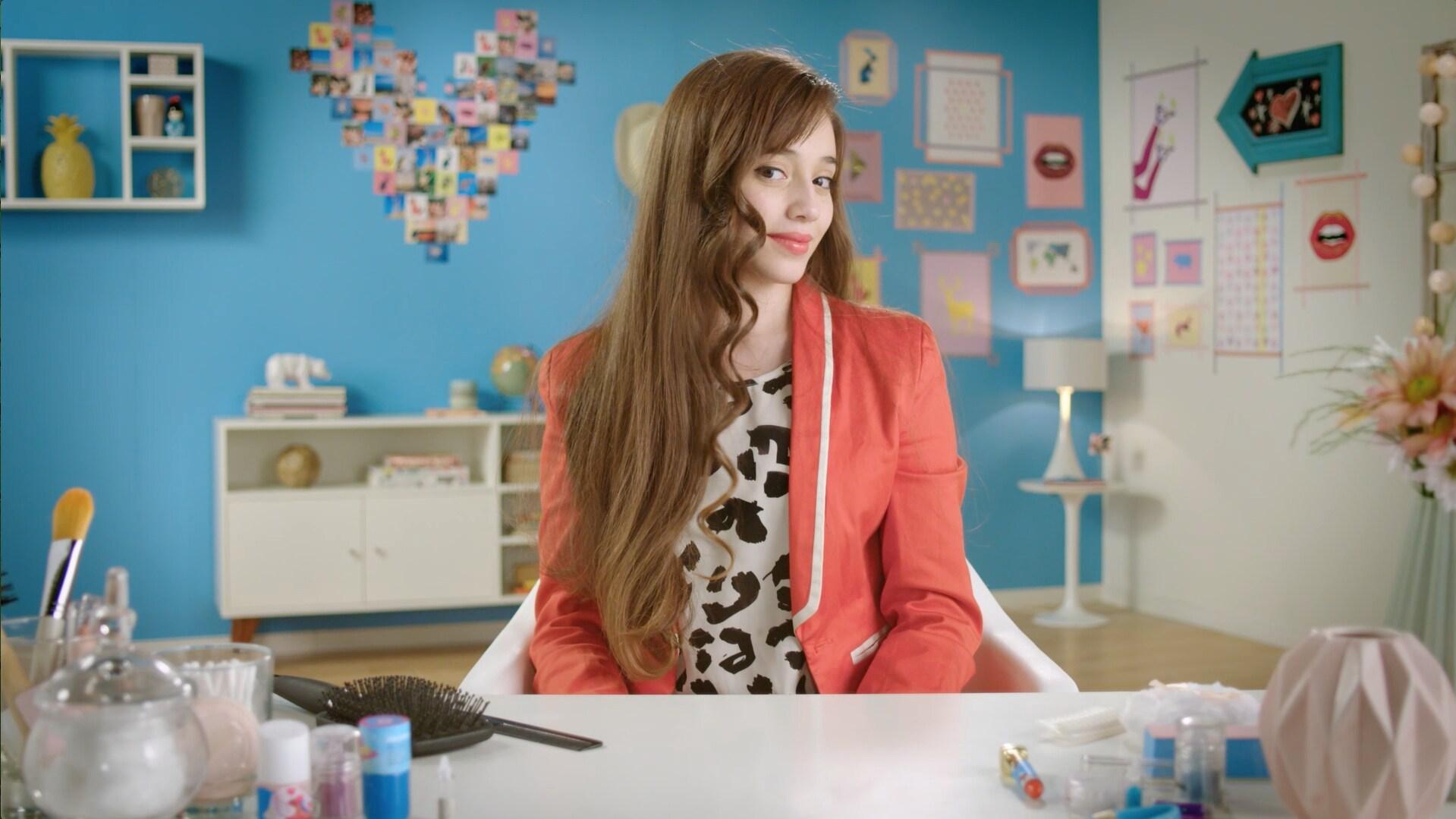 Hairstyle inspirado no Delfi - Sou Luna