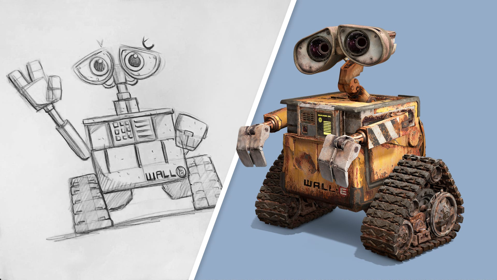 How to Draw WALL•E | Draw With Pixar