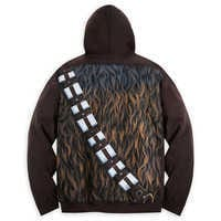 Image of Chewbacca Costume Hoodie for Adults - Star Wars # 2