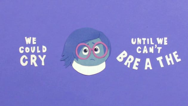 Inside Out Sadness Quote Inside Out Disney LOL