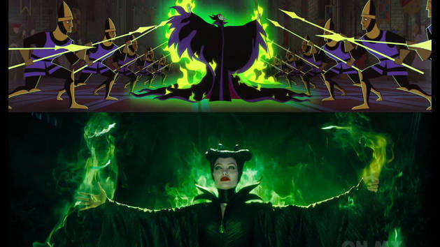 The Maleficent Trailer Gets Animated - Oh My Disney