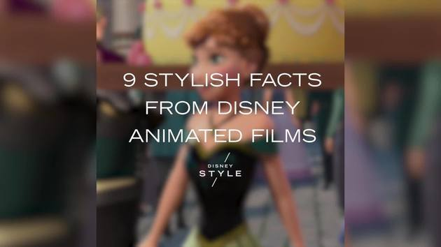 9 Stylish Facts From Disney Animated Films | Disney Style