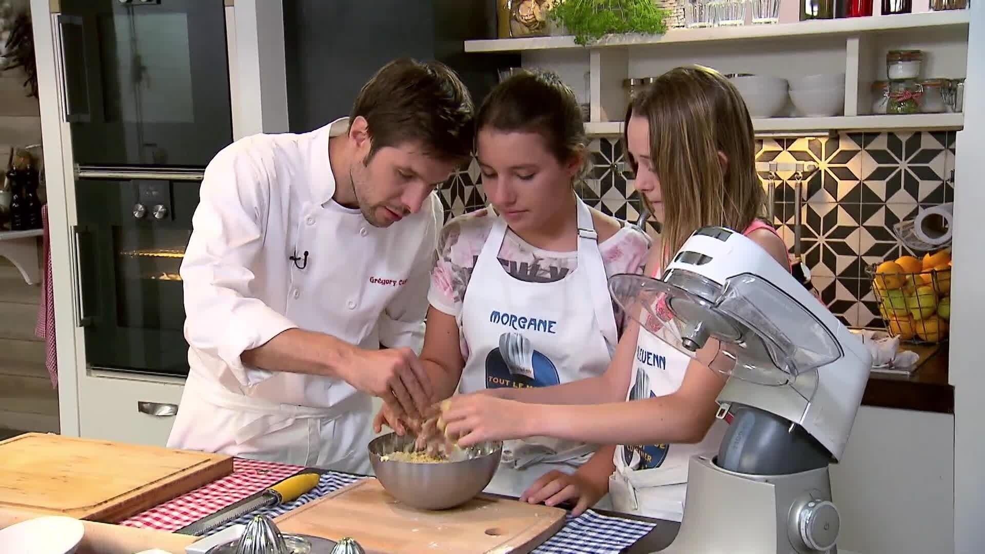 La tarte au citron de Morganne et Bleuène - Chez Rémy Tout Le Monde Peut Cuisiner - Partie 2