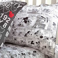 Image of Mickey Mouse Comic Strip Sham by Ethan Allen # 2