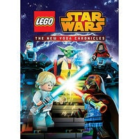 Image of Star Wars LEGO: The New Yoda Chronicles DVD # 1