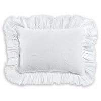 Minnie Mouse Scroll Matelassé Boudoir Pillow by Ethan Allen