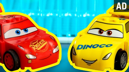 Cars 3 As Told By LEGO | Disney