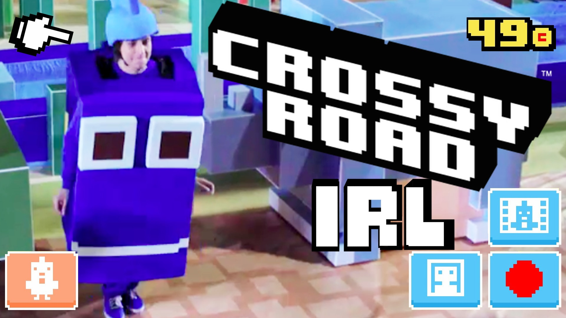 Disney Crossy Road IRL