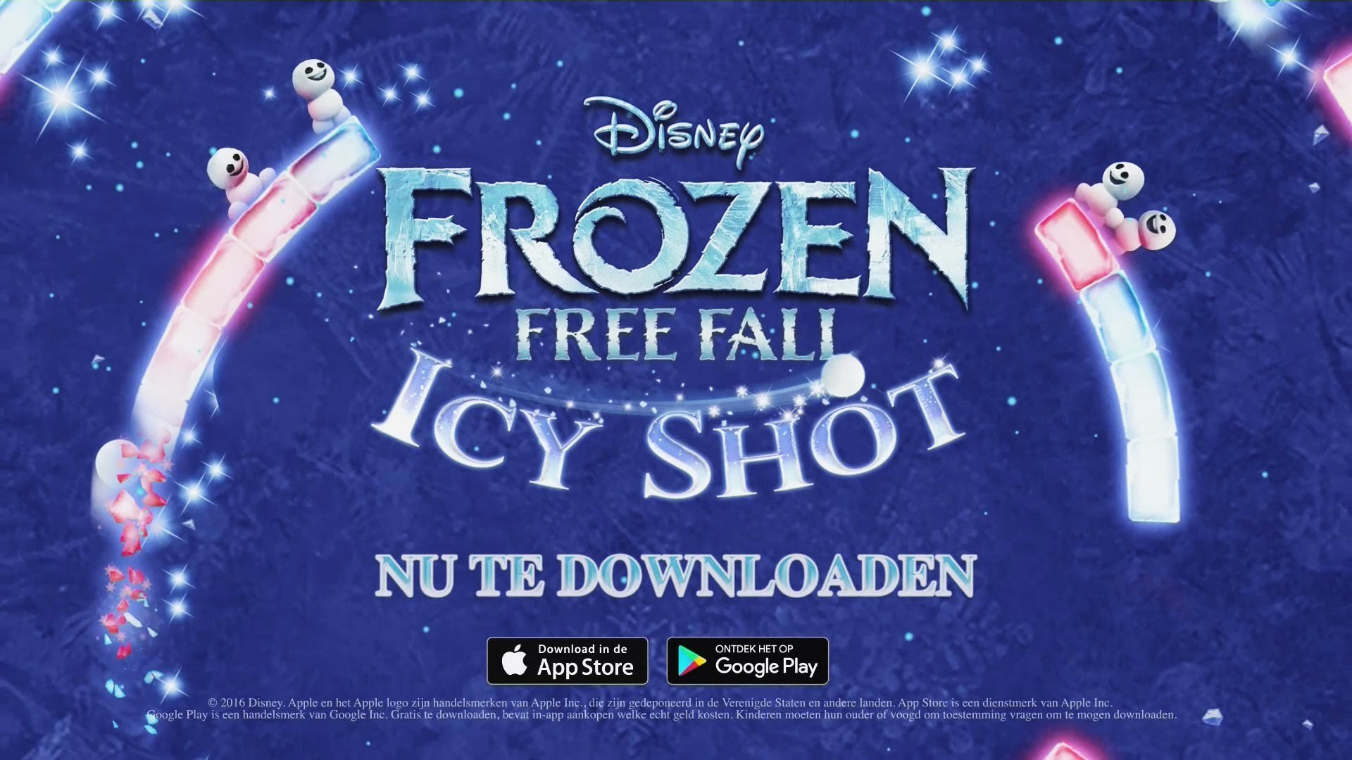 Frozen Free Fall: Icy Shot App Trailer