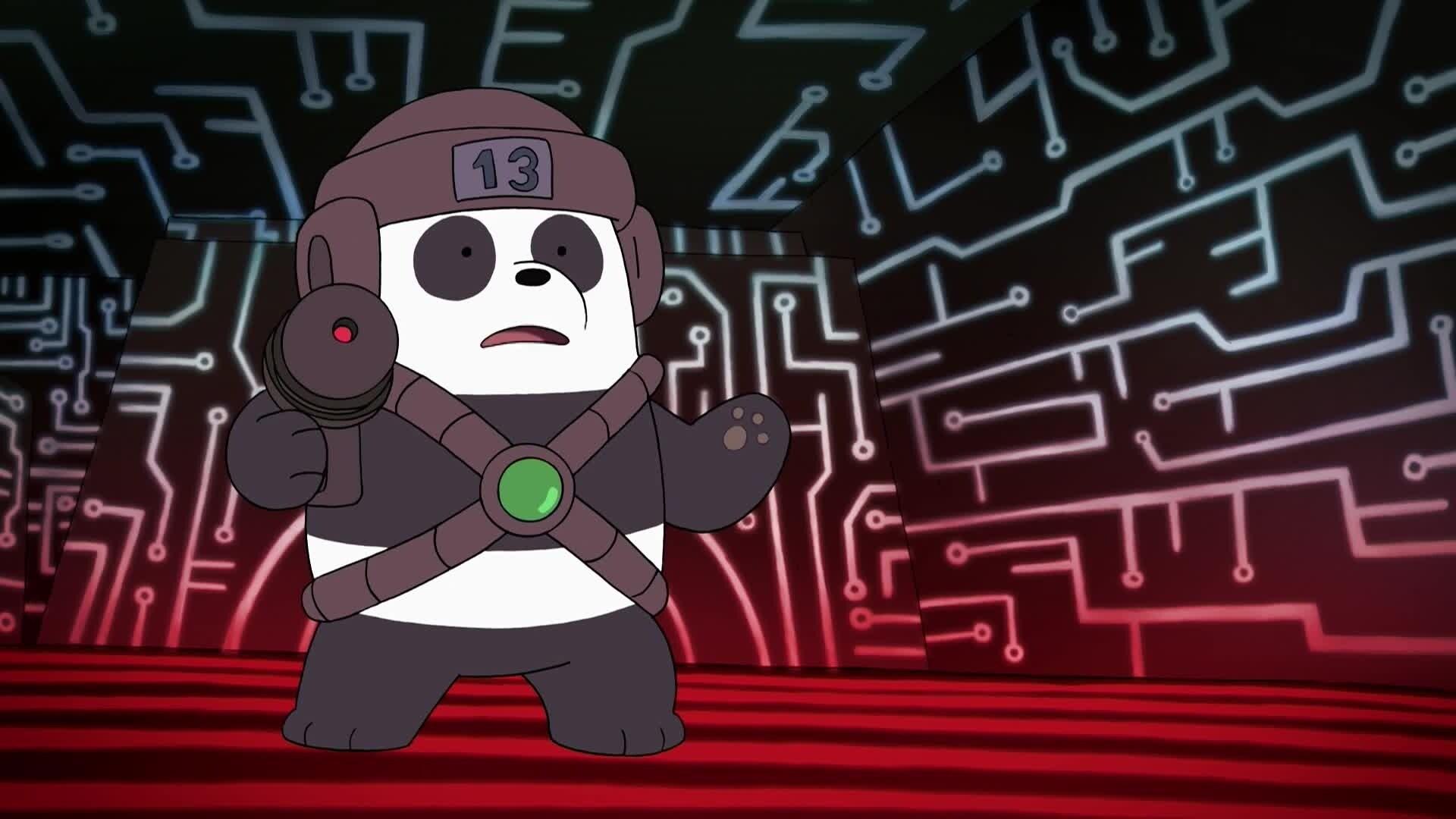 We Bare Bears - Bären wie wir - Wir und die Laser-Schlacht / Wir und die Mitfahrgelegenheit