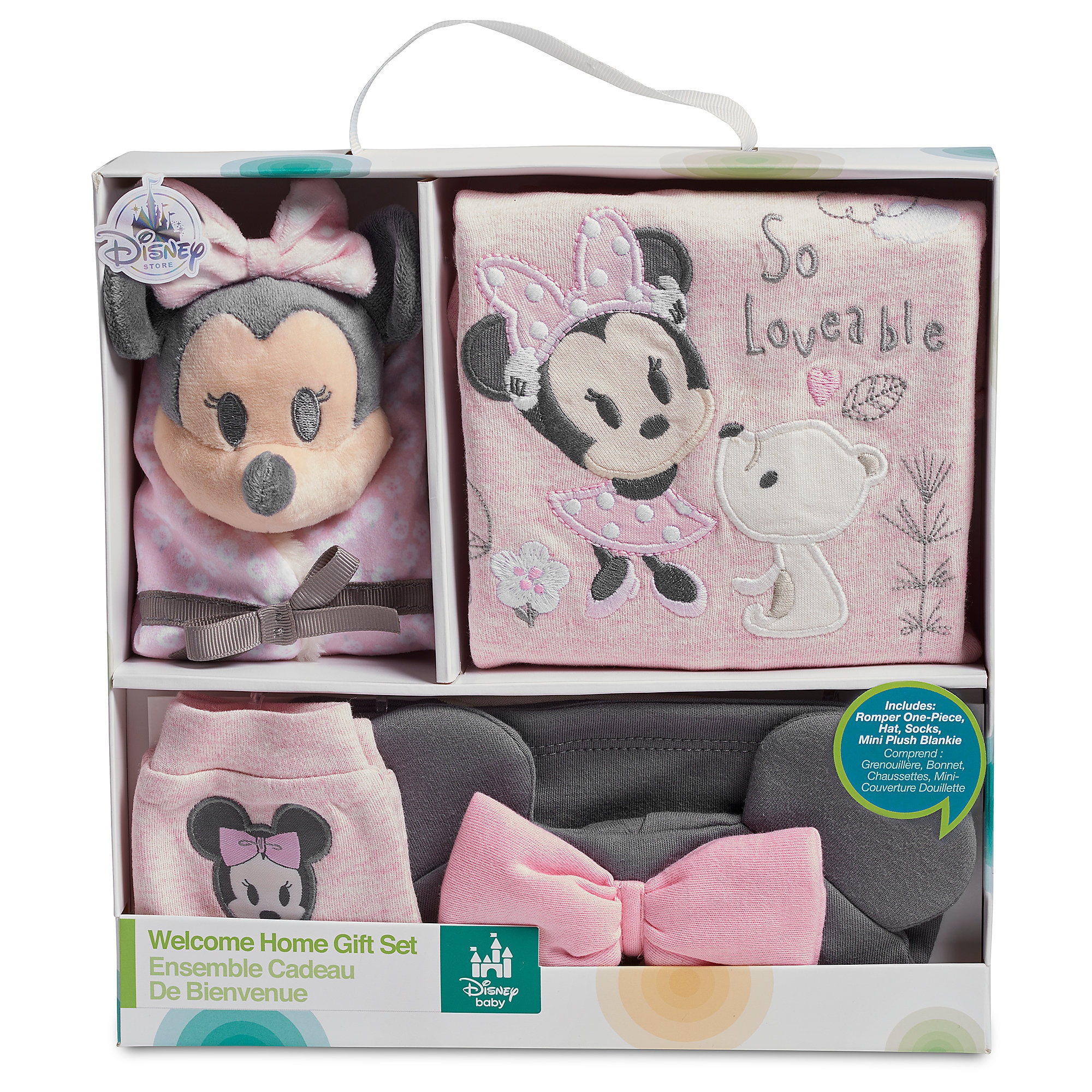Minnie Mouse Welcome Home Gift Set for Baby | shopDisney