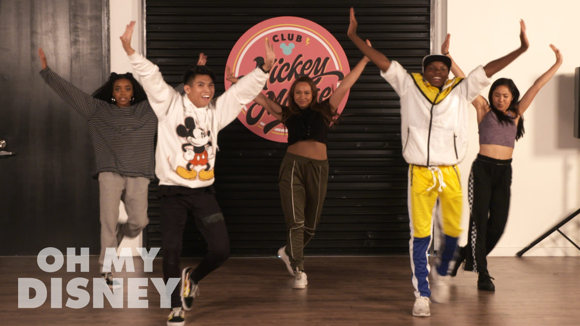 "Club Mickey Mouse ""Ready Set Go"" Dance Tutorial 